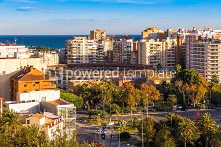 Architecture: Plaza de Toros de Malagueta bullring in Malaga Andalusia Spain #03739