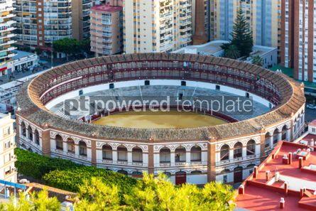 Architecture: Plaza de Toros de Malagueta bullring in Malaga Andalusia Spain #03743