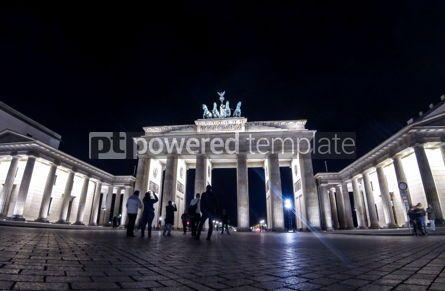 Architecture : Brandenburg Gate in Berlin Germany #03794