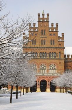 Architecture: Main Entrance of The Chernivtsi National University Ukraine #03797