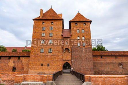 Architecture : Malbork castle in Pomerania region Poland #03802