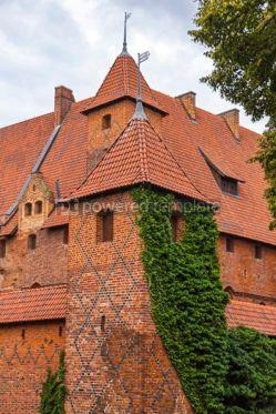 Architecture : Malbork castle in Pomerania region Poland #03803