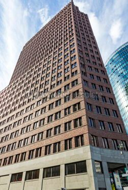 Architecture : Kollhoff Tower on Potsdamer Platz in Berlin Germany #03827