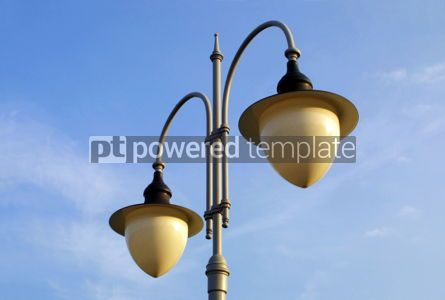 Architecture : Lamps on the lamppost #03841