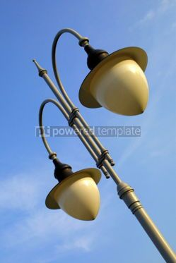 Architecture : Lamps on the lamppost #03843