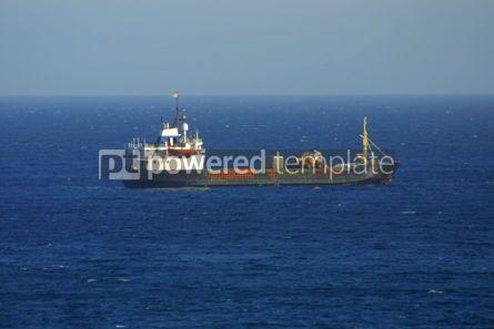 Industrial: Ship in Mediterranean sea #03862