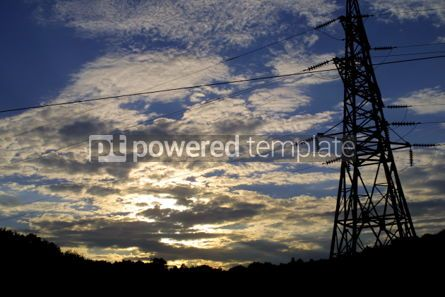 Industrial: Power transmission line #03864