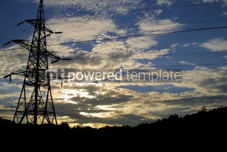 Industrial: Power transmission line #03865