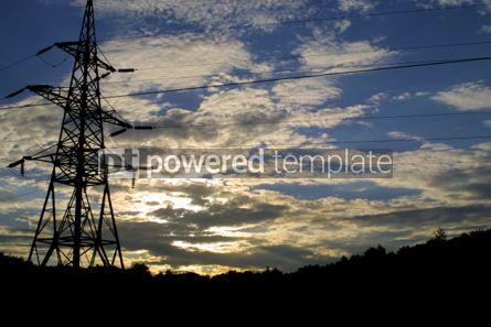 Industrial: Power transmission line #03865