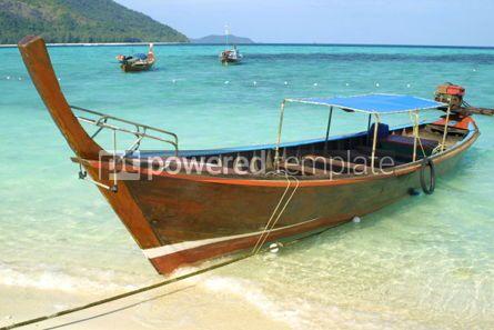 Transportation: Boats in Andaman sea #03881
