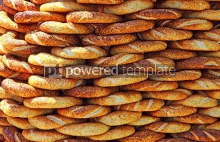 Food & Drink: Traditional turkish crispy sesame bagels (simits) seen at a stre #03895
