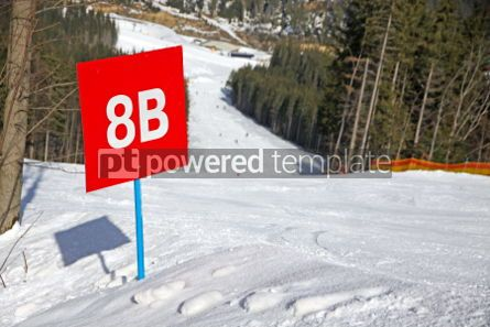 Sports : Marked ski track of Bukovel ski resort Ukraine #03914