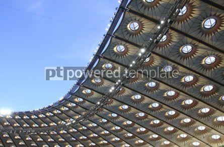 Sports : Roof of modern stadium #03918