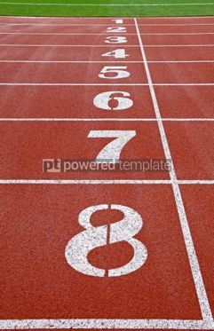 Sports : Starting grid of race track at a stadium #03932