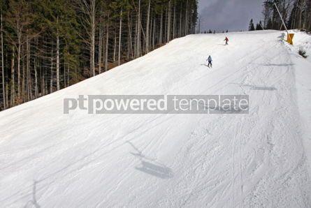 Nature: Ski track of Bukovel resort Carpathians Ukraine #03940