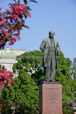 Architecture : Monument to the famous ukrainian poet Taras Shevchenko in Kyiv  #03953
