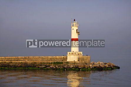 Architecture : Lighthouse at Bosphorus strait in Istanbul Turkey #03955