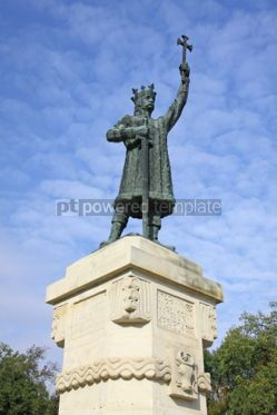 Architecture : Monument of Stefan cel Mare si Sfant (Stefan the Great and Holy) #03964
