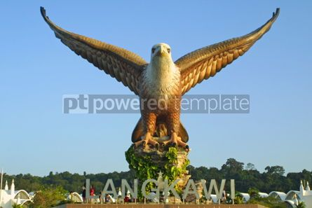 Architecture : Big eagle statue on Langkawi island #03967