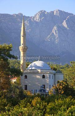 Architecture: Mustafa Gul ve Esi Cami Mosque in Kemer Antalya province Turke #03970