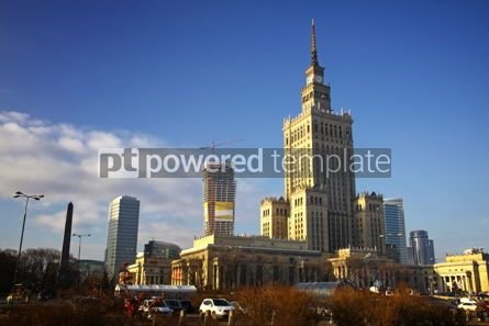 Architecture: Building of Palace of Culture and Science in Warsaw Poland #03985