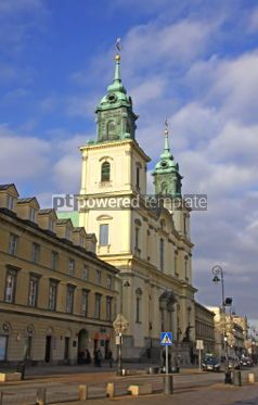 Architecture: Church of the Holy Cross (Kosciol sw. Krzyza) in Warsaw Poland #03986