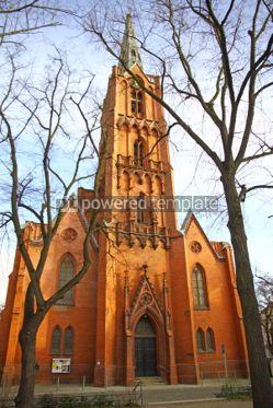 Architecture: Friedenskirche (Church of Peace) in Frankfurt an der Oder city  #04004