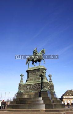 Architecture : Equestrian Statue of King John of Saxony (Konig Johann I. von Sa #04017
