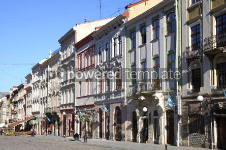Architecture : Market Square in a center of Lviv city Ukraine #04023