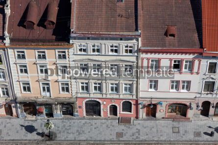 Architecture : Market Square in a center of Lviv city Ukraine. View from Lviv  #04024