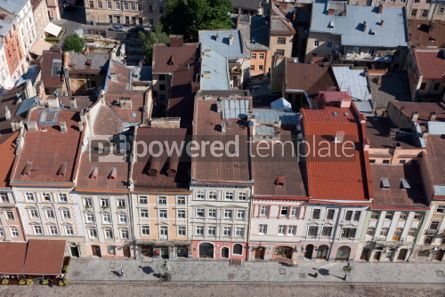 Architecture : Market Square in a center of Lviv city Ukraine. View from Lviv  #04025