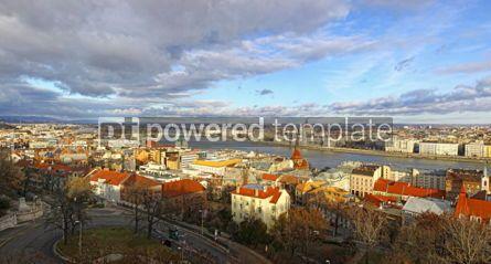 Architecture: Panoramic view of Budapest city Hungary #04026