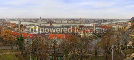 Architecture: Panoramic view of Budapest city Hungary #04027