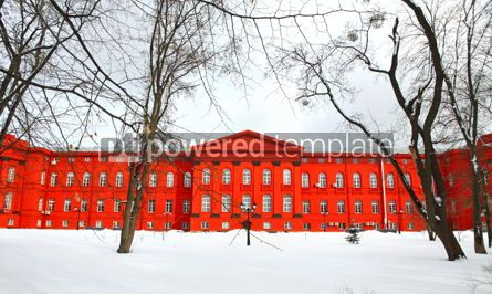 Architecture: Winter view of Taras Shevchenko National University of Kyiv Ukr #04036