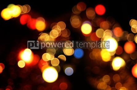 Holidays: christmaslightの抽象的な円形ボケ背景 - 写真 #04041