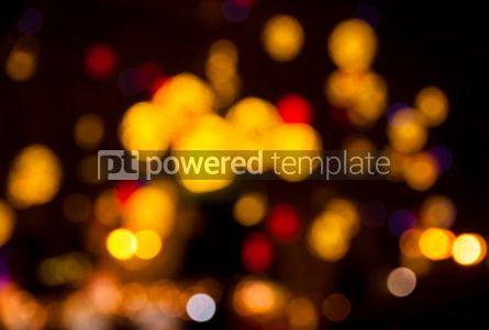 Holidays: Abstract circular bokeh background #04049