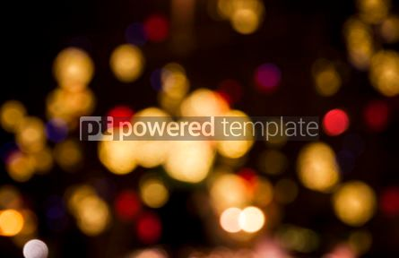 Holidays: Abstract circular bokeh background #04050