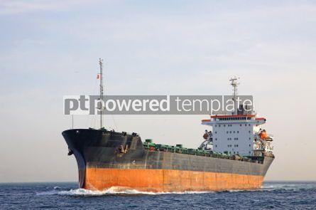 Industrial: Industrial ship at Bosphorus strait in Istanbul Turkey #04052