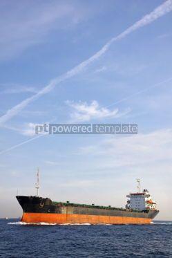Industrial: Industrial ship at Bosphorus strait in Istanbul Turkey #04053