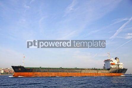 Industrial: Industrial ship at Bosphorus strait in Istanbul Turkey #04054
