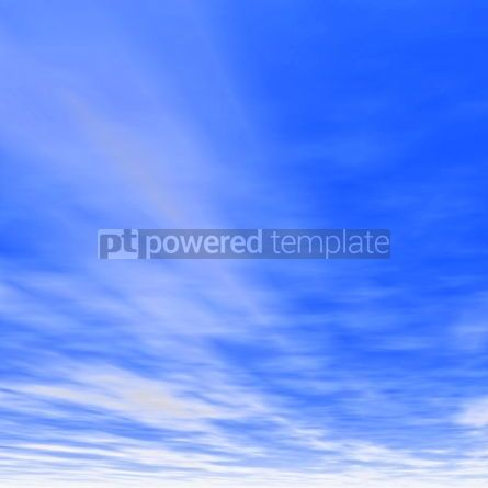 Nature: Soft white clouds in the blue sky #04104