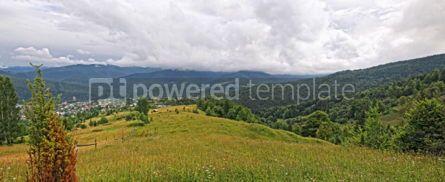 Nature: Mountains landscape near Yaremche village in Carpathians #04110