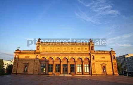 Architecture : Hamburger Kunsthalle - famous art museum in Hamburg Germany #04112