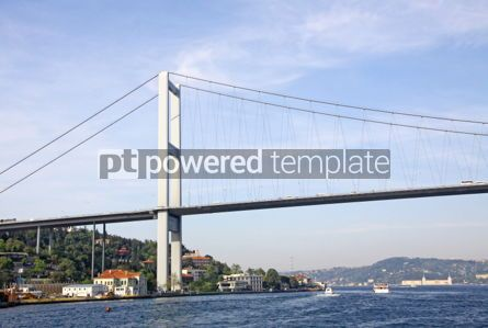 Architecture : Bosphorus Bridge over the Bosphorus strait in Istanbul Turkey #04154