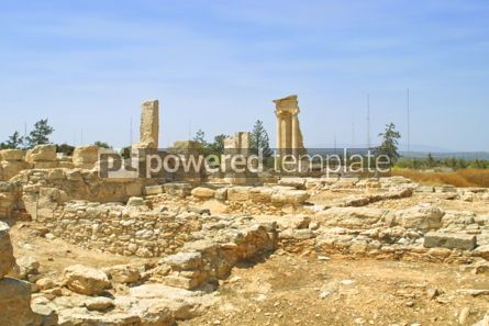 Architecture: Ruins of the Sanctuary of Apollo Hylates near Limassol Cyprus #04185