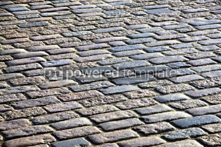 Architecture : Abstract background of fragment of stone blocks pavement surface #04192