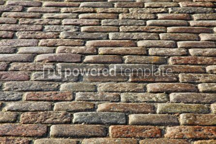 Architecture : Abstract background of fragment of stone blocks pavement surface #04193
