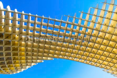 Architecture : Metropol Parasol wooden structure in Sevilla Andalusia Spain #04200