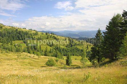 Nature: Mountains landscape near Yaremche village in Carpathians Ukrain #04207