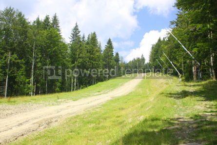 Nature: Famous Bukovel ski resort in summer Carpathian mountains Ukrai #04218